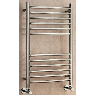Supplies4Heat Lanark Curved Towel Rail