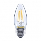 Image for Sylvania 4.5W F ES LED Dimmable Candle Light Bulb Warm White - 27496