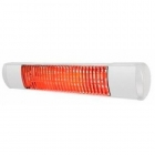 Image for Tansun Rio Grande Low Glare White 1.5kW Outdoor Heater RIO315IPW