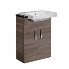 Image for Tavistock Courier 600mm Basin Unit Semi-Countertop Havana Oak - CR6FHV
