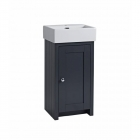 Image for Tavistock Lansdown 400mm Basin Cloakroom Unit Matt Dark Grey - LAN400C.DGM
