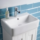 Image for Tavistock Lansdown 420mm 1 Tap Hole Basin - LAN420C