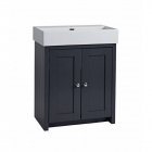 Image for Tavistock Lansdown 700mm Basin Unit Matt Dark Grey - LAN700B.DGM