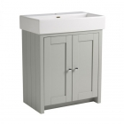 Image for Tavistock Lansdown 700mm Basin Unit Pebble Grey - LAN700B.PG