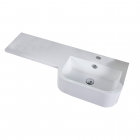 Image for Tavistock Match 1000mm Isocast RH 1 Tap Hole Basin - MA1BR