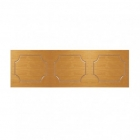 Milton 1700mm Front Bath Panel - Antique Pine