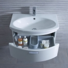 Image for Tavistock Tempo 650mm Basin 1 Tap Hole Basin - TE650C