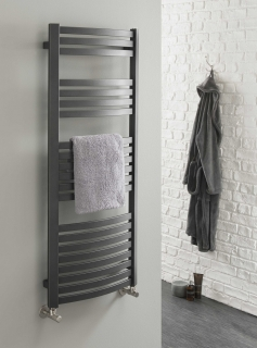 The Radiator Company Griffin Electric Towel Rail - White
