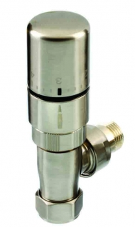 The Radiator Company Ideal TRV Pack - Nickel (Straight)