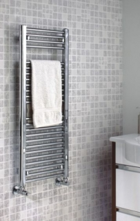 The Radiator Company Lupin Electric Towel Rail - Chrome