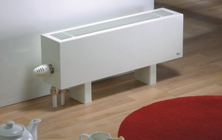 The Radiator Company Mini 180mm Floor Mounted Heater