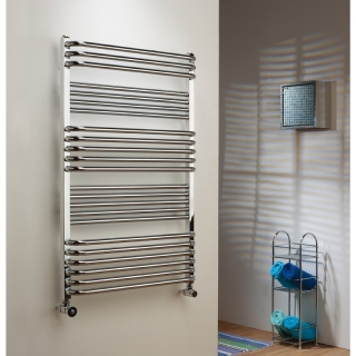 The Radiator Company Poll Towel Rail - Chrome