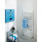 Image for The Radiator Company Poll 530x600mm Towel Rail White