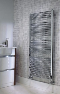 The Radiator Company Poppy Electric Towel Rail - Chrome