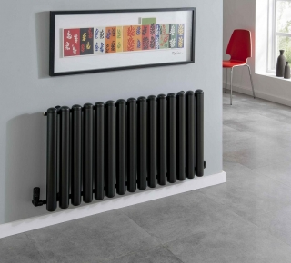 The Radiator Company Seta Groove Horizontal Chrome
