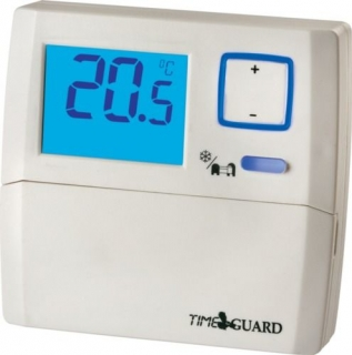 Time Guard Digital Room Thermostat with Night Set-Back TRT033C