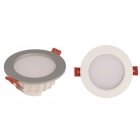 Image for TIME LED 10w Mini Panel Interchangeable LED Downlight - Silver/White - 769515