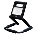 Image for TIME LED 10w Rechargeable LED Folding Flood Light (UK) - Black - 765760