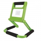 Image for TIME LED 10w Rechargeable LED Folding Flood Light (UK) - Green - 764121