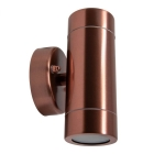 Image for TIME LED GU10 UP/DOWN FIXED Spotlight MAX 35W COPPER - IP45 (155mm) - 781524