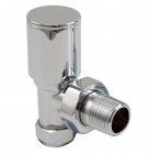 Image for Towelrads 15mm Manual Angled Valve Chrome - 121001