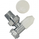 Tradesave Manual Wheelhead/Lockshield Valve 10mm Angled TRSV10