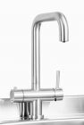 Image for Trianco Aztec 3 in 1 Boiling Tap Brushed - 4050BRU