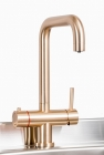 Image for Trianco Aztec 3 in 1 Boiling Tap Copper - 4050COP