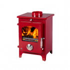 Image for Trianco Newton 5kW Multifuel Stove Claret - 39423