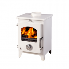 Image for Trianco Newton 5kW Multifuel Stove Cream - 39424
