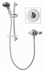 Triton Dart Concentric Thermostatic Mixer Shower - Chrome