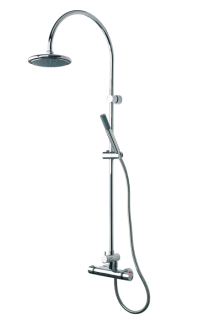 Triton Dove Thermostatic Bar Mixer Shower