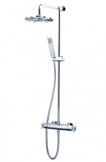 Triton Mersey Bar Mixer Shower With Diverter - Chrome
