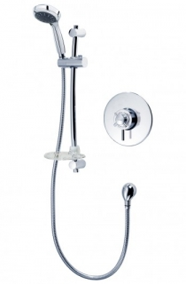 Triton Mersey Built-in Mixer Shower - Chrome