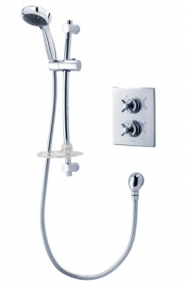 Triton Mersey Dual Control Mixer Shower - Chrome