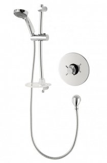 Triton Mersey Mini Sequential Built-in Mixer Shower - Chrome