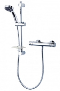 Triton Nene Cool Touch Bar Mixer Shower - Chrome