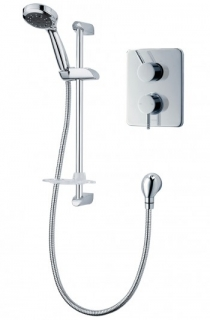 Triton Thames Dual Control Mixer Shower - Chrome