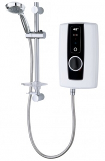 Triton Touch Electric Shower - White / Black 9.5kW