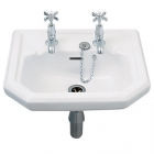 Twyford Clarice - Pedestal (Full, 450mm-580mm Basins) - CL4910WH