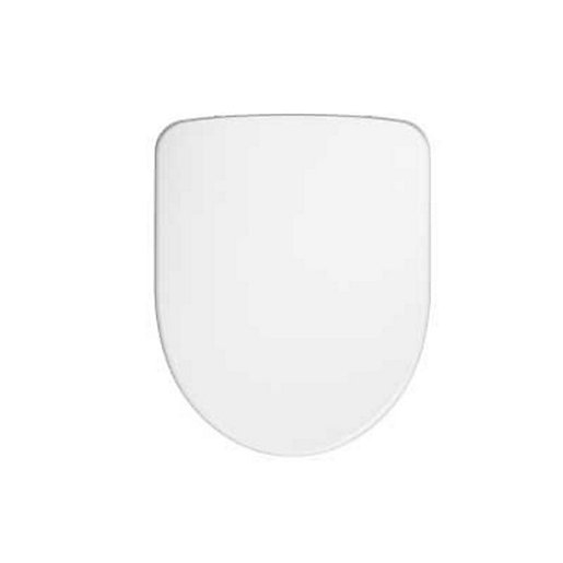 Twyford Energy E100 Toilet Seat Round Metal Bottom Fix Hinge E17815wh Toilets