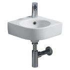 Image for Twyford Energy E200 320mm 1 Tap Hole Corner Basin - E24891WH