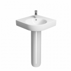 Image for Twyford Energy E200 500mm 1 Tap Hole Corner Basin - E24191WH