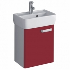 Twyford Galerie Plan 450mm 1 Door Basin Unit Red Gloss - GL0171RD