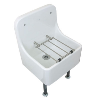 Twyford High Back 470mm Cleaner Sink FC1044