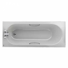 Image for Twyford Opal Bath 1500 x 700mm 2TH Grips - OL8422WH
