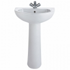 Image for Twyford Option Pedestal (Full, 550mm Basins) - OT4910WH
