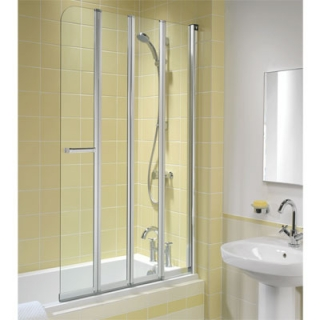 Twyford Outfit 4 Fold Bath Screens