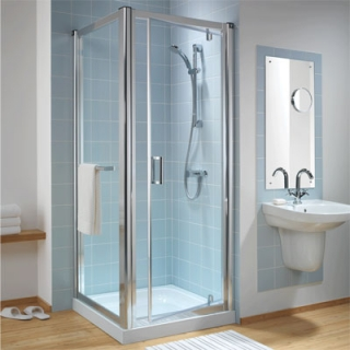 Twyford Outfit Pivot Shower Doors