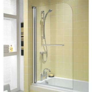 Twyford Outfit Single Panel Bath Screens